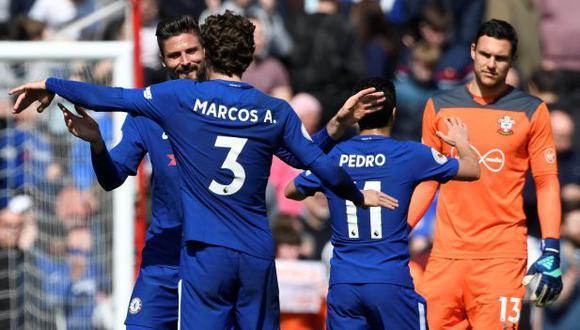 Chelsea marcha en el quinto puesto de la Premier League 2017-18. (Reuters)