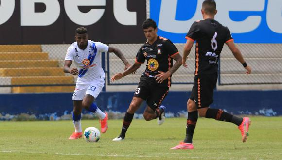 Alianza Atlético vs. Ayacucho FC jugaron en Villa El Salvador. (Foto: Liga 1)