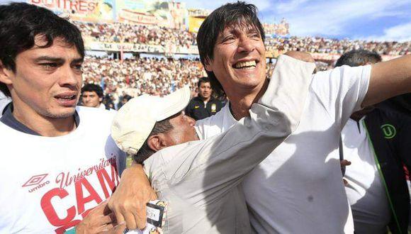 Ángel Comizzo pega la vuelta a Universitario tras seis años. (Foto:; prensa U)