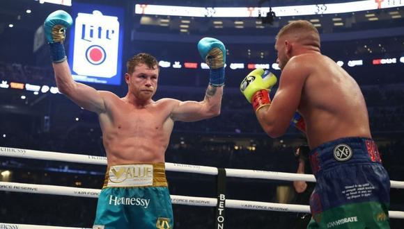 Canelo Álvarez venció a su rival en el octavo round. El mexicano castigó duramente al británico en todos los asaltos. (Foto: Al Bello/Getty Images)