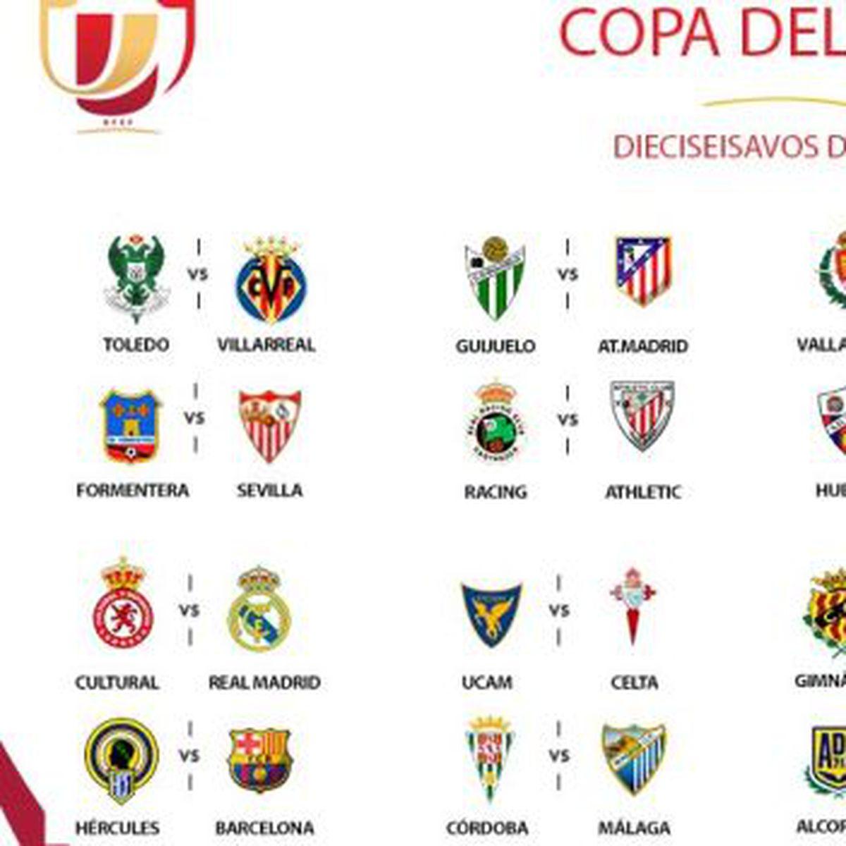 Copa Del Rey 2016 2017 Barcelona Y Real Madrid Ante Equipos De Tercera España Depor