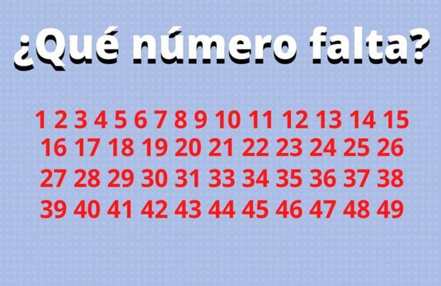 Reto Viral Del Dia Halla El Numero Que Falta En La Serie Numerica En Un Problema Matematico Que Pocos Pueden Resolver Viral En Redes Sociales En La Actualidad Facebook