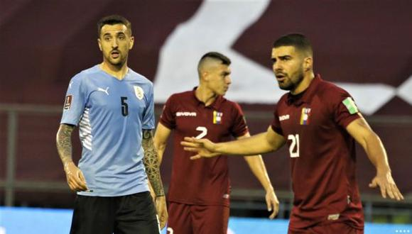 Uruguay vs. Venezuela en Caracas por las Eliminatorias Qatar 2022. (Foto: Agencias)