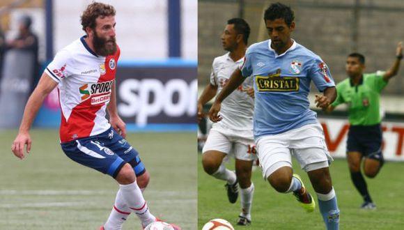 Luis Miguel Escada anotó dos goles con Sporting Cristal en la temporada 2011. (USI)