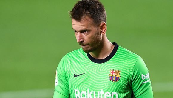 Neto Murara tiene contrato con el Barcelona hasta el verano de 2023. (Getty)