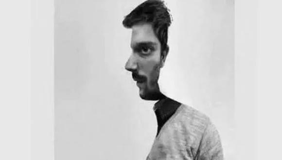 Mira lo que dice de ti la forma como veas a este hombre, de perfil o de frente. (Foto: Facebook/Mdzol)