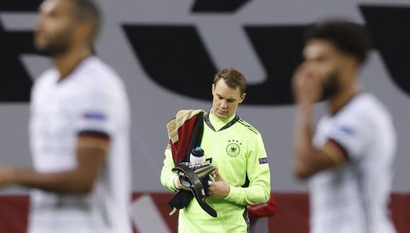 Alemania perdió ante España por 6-0 en La Cartuja en Liga de Naciones. (Reuters)