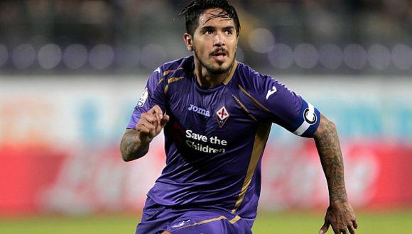 Juan Manuel Vargas dejó huella en Fiorentina (Foto: Agencias)
