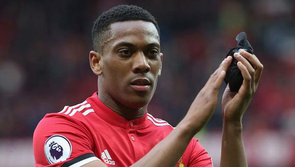 Anthony Martial aún no gana la Premier League con Manchester United. (Getty Images)