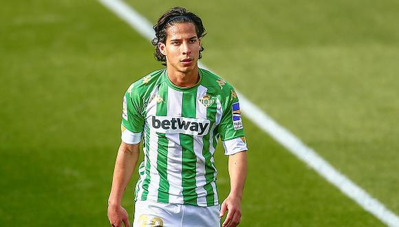 Diego Lainez llegó al Real Betis hace año y medio procedente del América de México (Foto: Getty Images)