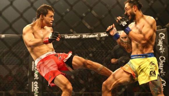 Combate Américas regresará con sus peleas el 28 de agosto desde un estudio de televisión en Miami. (Foto: Hugo Curotto/GEC)