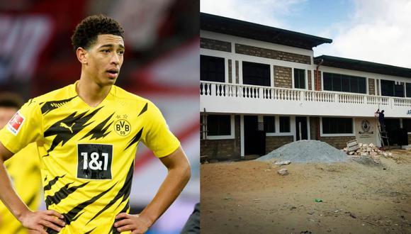 Jude Bellingham tiene contrato con el Borussia Dortmund hasta el 2023. (Foto: The Sun)