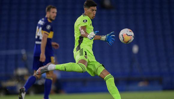Esteban Andrada dio positivo en la previa del partido ante Barcelona SC en Ecuador. (Foto: AFP)