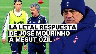 La contundente respuesta de Mourinho a la provocación de Mesut Özil en el Tottenham