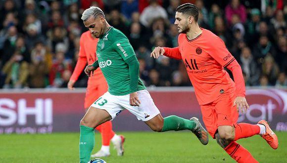 Miguel Trauco llegó al Saint Etienne en la temporada 2019-20. (Getty)