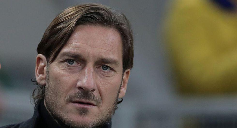 Francesco Totti marcó 307 goles para la Roma. (Getty Images)