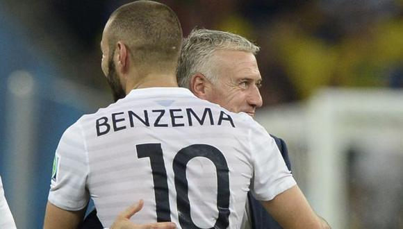Karim Benzema no juega por la selección de Francia desde octubre del 2015. (Foto: AFP)