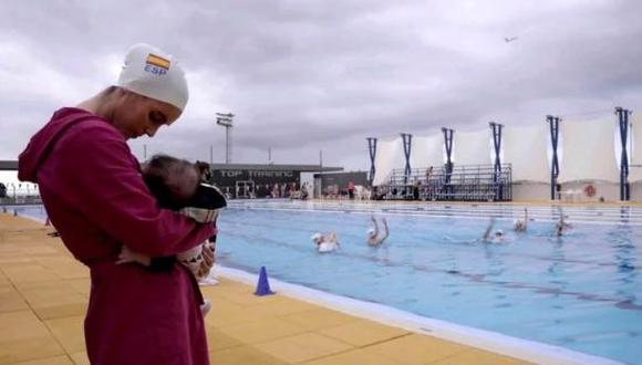Ona Carbonell se mostró decepcionado con el Comité Olímpico Internacional tras no permitirle viajar a Tokio 2020 con su hijo, Kai. (Foto: Twitter)