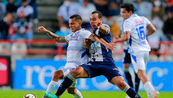 Cruz Azul vs. Pachuca se midieron por las semis de la Liguilla MX 2021 este miércoles (Foto: Getty Images)