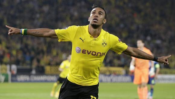 Pierre Emerick Aubameyang es jugador del Borussia Dortmund desde la temporada 2013/14. (Foto: Getty)