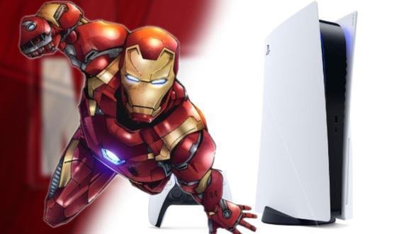 PS5: fan de Marvel sorprende a miles con este diseño de Iron Man para la PlayStation 5