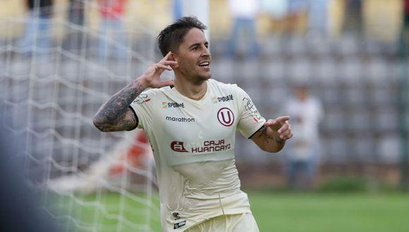 Alejandro Hohberg anotó el gol de la victoria para Universitario ante Alianza Universidad, por la sexta fecha del Clausura. (Foto: Jesús Saucedo)