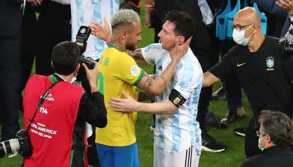 Neymar y Lionel Messi compartieron cuatro temporadas en el FC Barcelona. (Foto: EFE)
