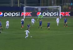El portero no tuvo nada que hacer: el golazo de Mendy para el 1-0 del Real Madrid vs. Atalanta [VIDEO]