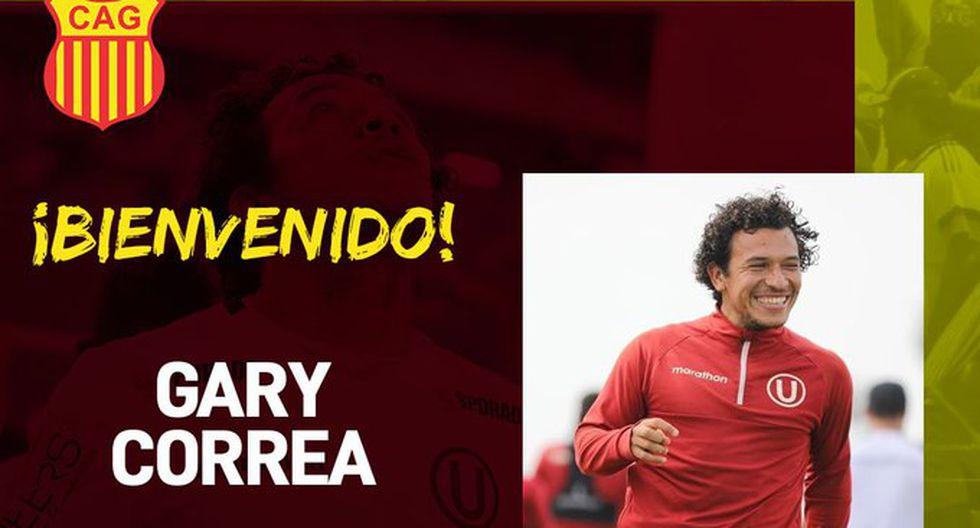 Gary Correa fue anunciado como jugador de Atlético Grau de Piura. (Foto: Atlético Grau)