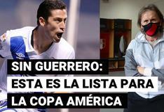 Ricardo Gareca presentó una sorpresiva lista para la Copa América