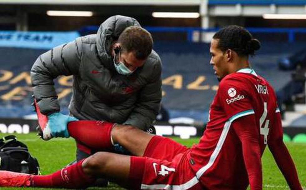 Jurguen Klopp cuenta con 7 bajas por lesión y enfermedad: Virgil van Dijk, Fabinho, Thiago Alcantara, Mohamed Salah, Trent Alexander-Arnold, Joe Gomez y Alex Oxlade-Chamberlain. (Foto: AFP)