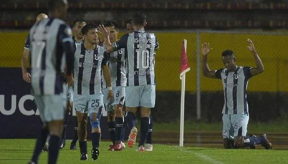 Universidad Católica vs. Liverpool por la Copa Libertadores 2021. (Foto: EFE)