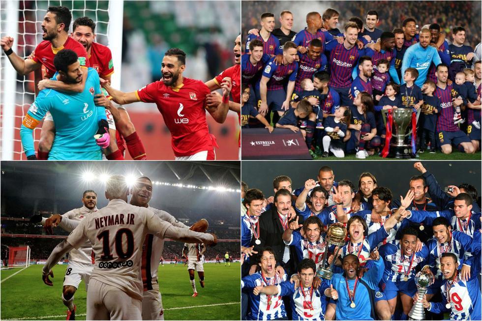 Los clubes con más títulos mundiales en el siglo XXI.