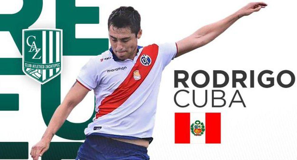 Rodrigo Cuba (Defensa) - Zacatepec de México. (Foto: Zacatepec)