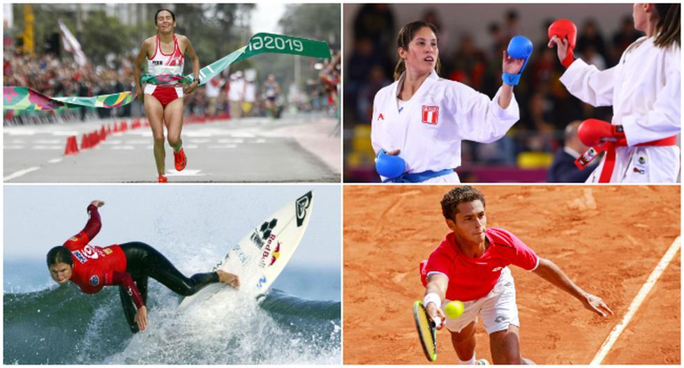 La lista de deportistas peruanos clasificados a Tokio 2020. (Foto: Difusión)