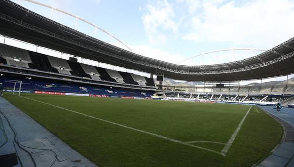 El estadio Nilton Santos albergó el choque entre Argentina y Chile por la fecha 1 de la Copa América. (Foto: GEC)
