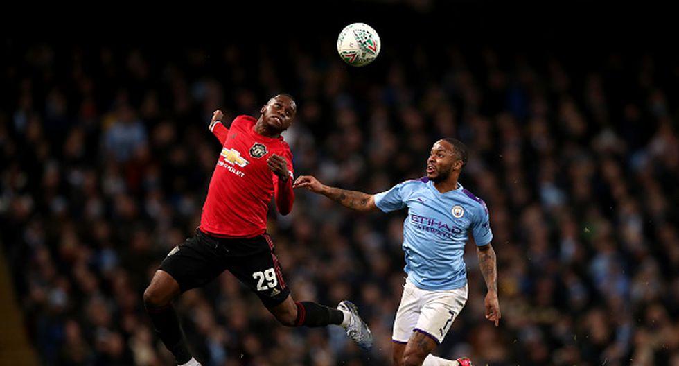 Manchester City cayó ante el Manchester United, pero clasificó a la final de la Carabao Cup. (Foto: Getty)