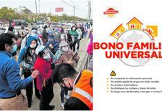 Bono Universal, Bono Yo me quedo en casa: detalles del subsidio