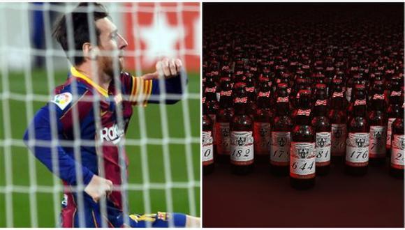 Lionel Messi llegó a los 644 goles con camiseta del Barcelona. (Foto: AFP)