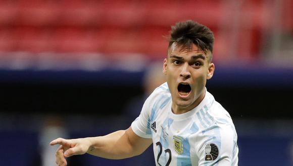 Lautaro Martínez tiene contrato hasta el 2023 con el Inter de Milán. (Foto: EFE)