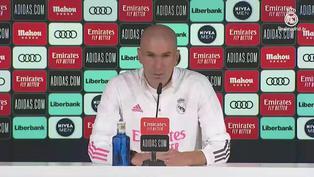 """Zinedine Zidane: """"Es desconcertante pero hay gente que lo está pasando muy mal"""""""