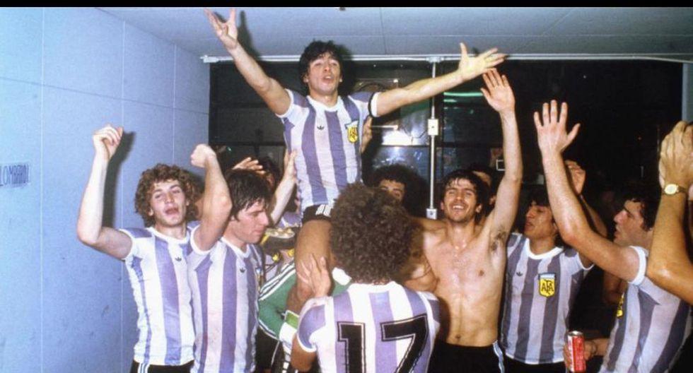 Diego Maradona fue la gran figura de la Albiceleste en su título de 1979 en Japón.