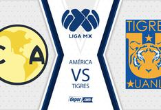 Canal 5 y TUDN, América vs. Tigres EN VIVO desde el Azteca por la fecha 15 de la Liga MX