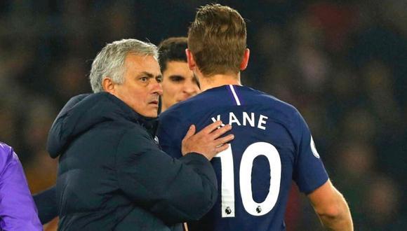 Harry Kane elogia liderazgo de Mourinho (Foto: AFP)