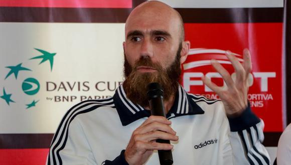 Luis Horna defendió la camiseta peruana por Copa Davis durante 15 años. (Foto: TAM)
