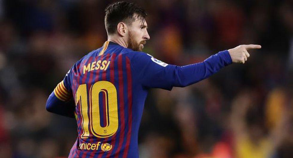 Lionel Messi ha jugado toda su carrera deportiva en Barcelona. (Foto: AFP)