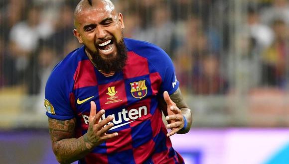 Arturo Vidal llegó al FC Barcelona en el 2018 procedente del Bayern Munich. (EFE)