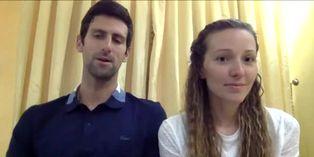 El tenista Djokovic dona un millón de euros contra el COVID-19 en Serbia