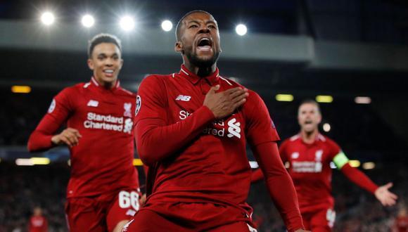 Wijnaldum tiene contrato con el Liverpool hasta el 2021. (Foto: AFP)