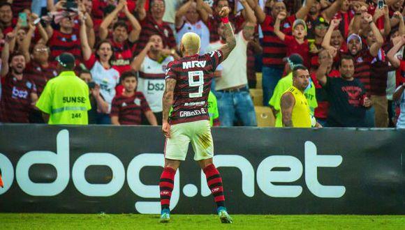 Gabriel Barbosa es el máximo goleador del Brasileirao con 16 anotaciones. (Foto: Flamengo)